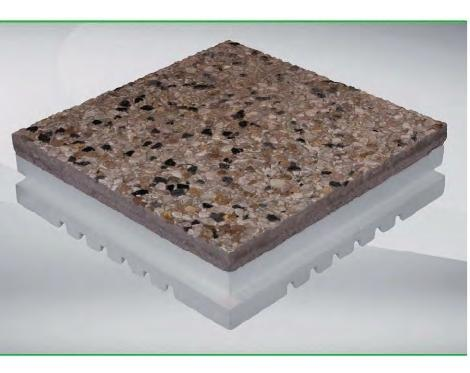 pavimento terrazzi isolamento termico FRESHOT « Convertino ...